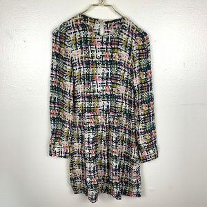 Zara Woman Print Pattern Dress